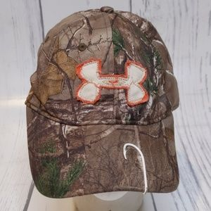 Under Armour Camo Fishing Hunting One Size Hat Cap